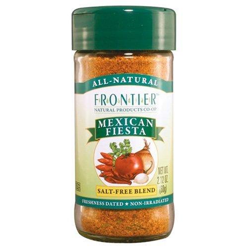 Frontier Seasoning Blends Mexican Fiesta 2.12-Ounce Bottle