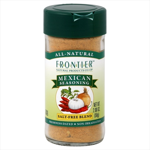 Frontier Seasoning Blends Salt-free Mexican Seasoning 2-Ounce Bottle
