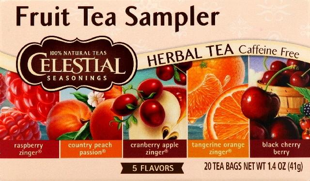 Fruit Tea Sampler -Pack of 6