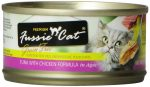 Fussie Cat 888641130559 Premium Tuna with Anchovies Formula in Aspic 2.82 oz