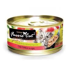 Fussie Cat 98313311 Premium Grain Free Tuna Canned Cat Food 2.82 oz - Pack of 24