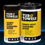 Gasoila Chemicals 296-TW90 Tub O Towels Hand Hard Surface - 90 Ct.