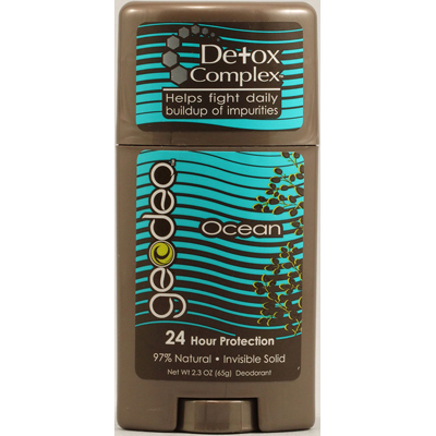 Geo-Deo 1142314 Natural Deodorant Stick with Detox Complex Ocean - 2.3 oz
