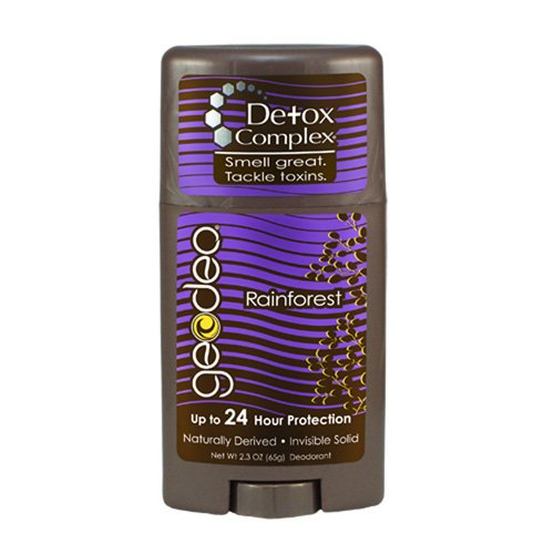 Geo-Deo 1305978 Natural Rainforest with Detox Complex Deodorant Stick 2.3 oz