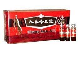 Ginseng Products FW200 10 Vial Ginseng & Royal Jelly in a Honey Base