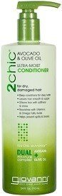 Giovanni Hair Care Products 1198068 2Chic Avocado & Olive Oil Conditioner 24 fl oz