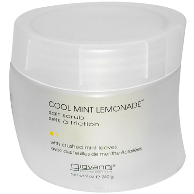 Giovanni Salt Scrub Cool Mint Lemonade - 9 Oz