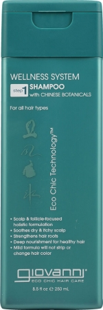 Giovanni Wellness System Wellness System Shampoo step 1 8.5 fl. oz. 223889