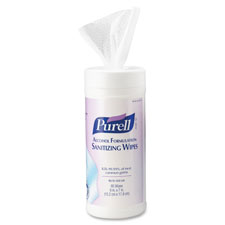 Gojo GOJ903012 Purell Alcohol Hand Sanitizing Wipes