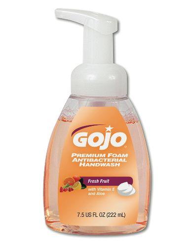 Gojo Industries GOJ 5710-06 Premium Foam Antibacterial Handwash Refill 7.5 Oz