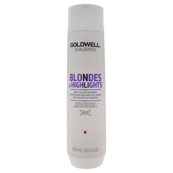 Goldwell U-HC-13079 10.1 oz Dualsenses Blondes & Highlights Anti-Yellow Shampoo for Unisex