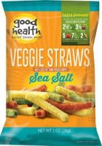 Good Health 1 Ounce Veggie Straws Sea Salt
