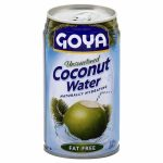 Goya 123933 11.8 oz. Unsweetened Coconut Water