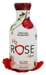 H2Rose 279363 12 oz Rose Apple Water Pack of 12