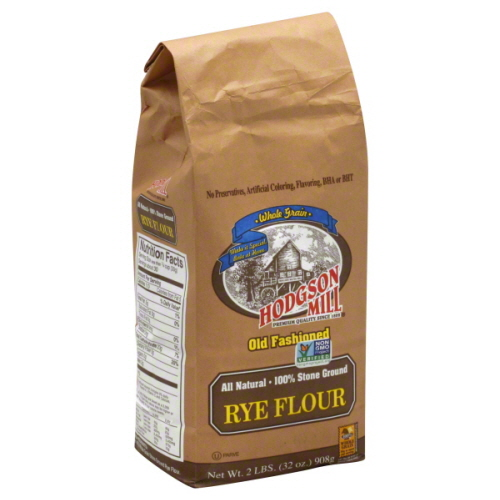 HODGSON MILL FLOUR RYE-2 LB -Pack of 6