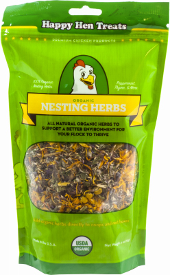 Happy Hen Treats 215106 4 oz Organic Nesting Herbs