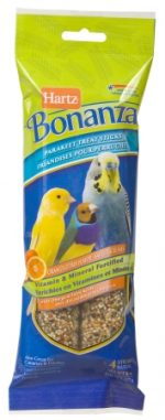 Hartz 8 Oz Bonanza Parakeet Treat Sticks 11570