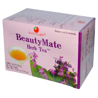 Health King Medicinal Teas 0417675 BeautyMate Herb Tea - 20 Tea Bags