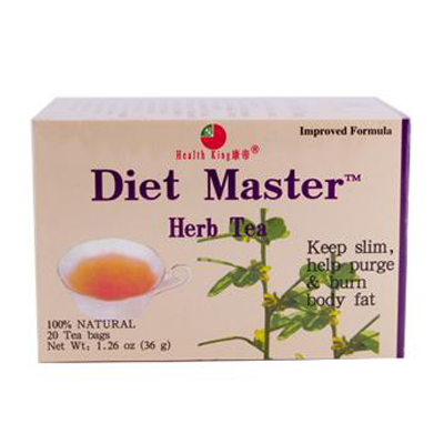 Health King Medicinal Teas 0417774 Diet Master Herb Tea - 20 Tea Bags