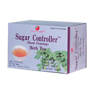 Health King Medicinal Teas 0417931 Sugar Controller Blood Cleansing Herb Tea - 20 Tea Bags