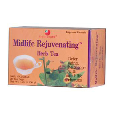 Health King Midlife Rejuvenating Herb Tea - 20 Tea Bags