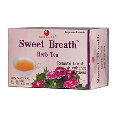 Health King Sweet Breath Herb Tea - 20 Tea Bags