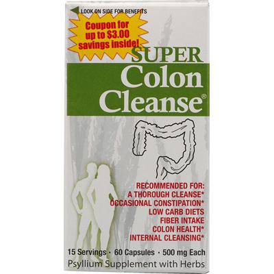Health Plus 0560342 Super Colon Cleanse - 60 Capsules