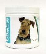 Healthy Breeds 840235100492 Airedale Terrier Z-Flex Minis Hip & Joint Support Soft Chews - 60 Count