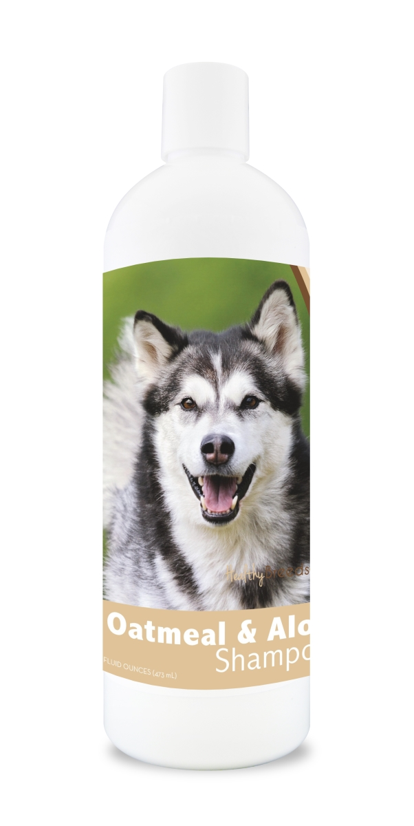 Healthy Breeds 840235100683 16 oz Alaskan Malamute Oatmeal Shampoo with Aloe
