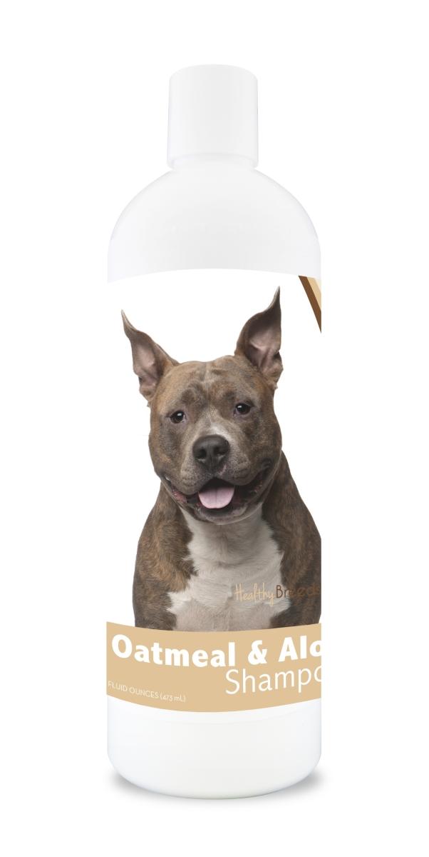 Healthy Breeds 840235100843 16 oz American Staffordshire Terrier Oatmeal Shampoo with Aloe
