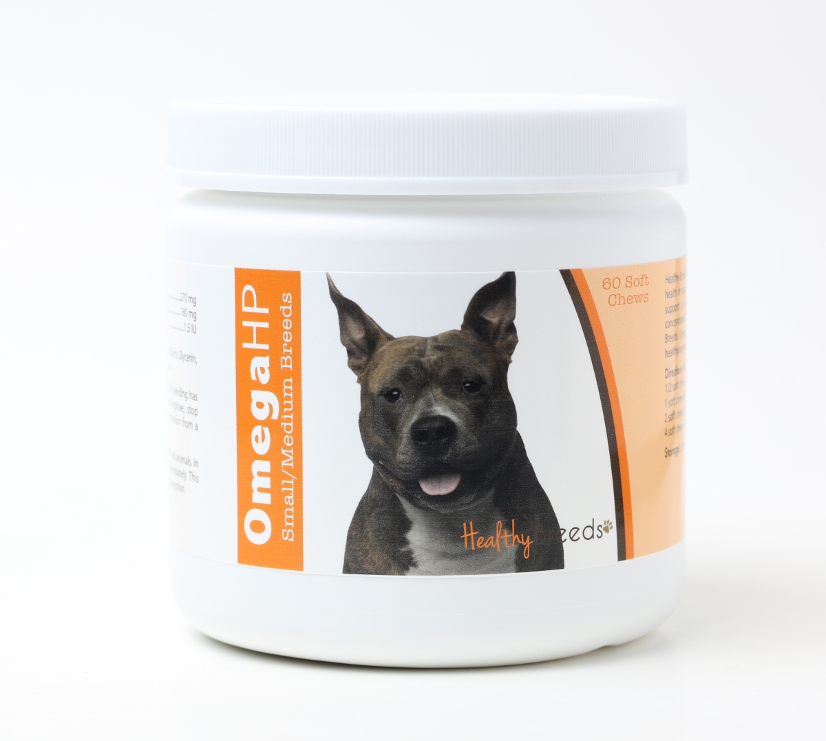 Healthy Breeds 840235100898 Omega-3 Fatty Acids Skin & Coat Soft Chews
