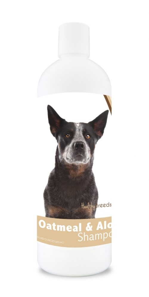 Healthy Breeds 840235101000 16 oz Australian Cattle Dog Oatmeal Shampoo with Aloe