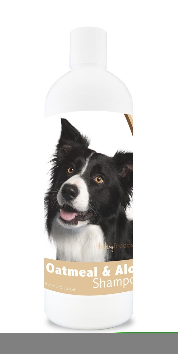 Healthy Breeds 840235101468 16 oz Border Collie Oatmeal Shampoo with Aloe