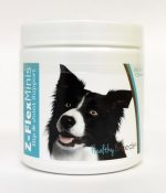 Healthy Breeds 840235101604 Border Collie Z-Flex Minis Hip & Joint Support Soft Chews - 60 Count