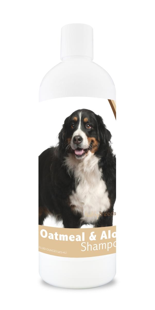 Healthy Breeds 840235102441 16 oz Bernese Mountain Dog Oatmeal Shampoo with Aloe