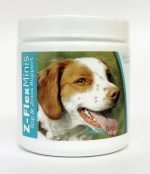 Healthy Breeds 840235103332 Brittany Z-Flex Minis Hip & Joint Support Soft Chews - 60 Count