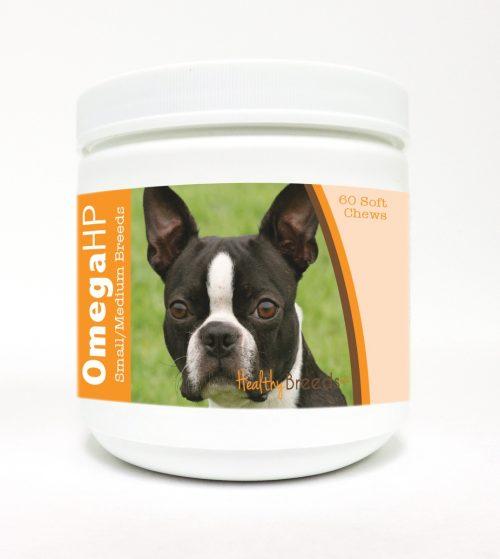Healthy Breeds 840235103721 Omega-3 Fatty Acids Skin & Coat Soft Chews