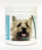 Healthy Breeds 840235104216 Cairn Terrier Z-Flex Minis Hip & Joint Support Soft Chews 60 Count