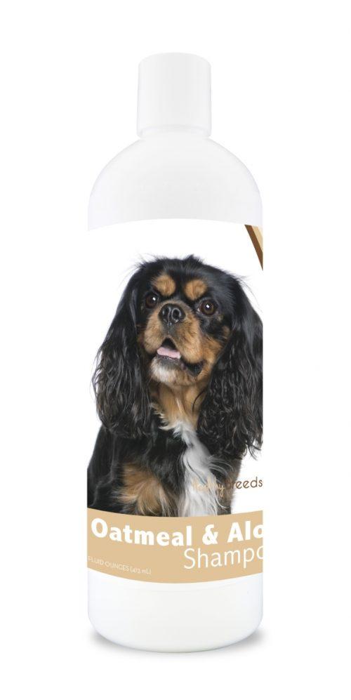 Healthy Breeds 840235104407 16 oz Cavalier King Charles Spaniel Oatmeal Shampoo with Aloe