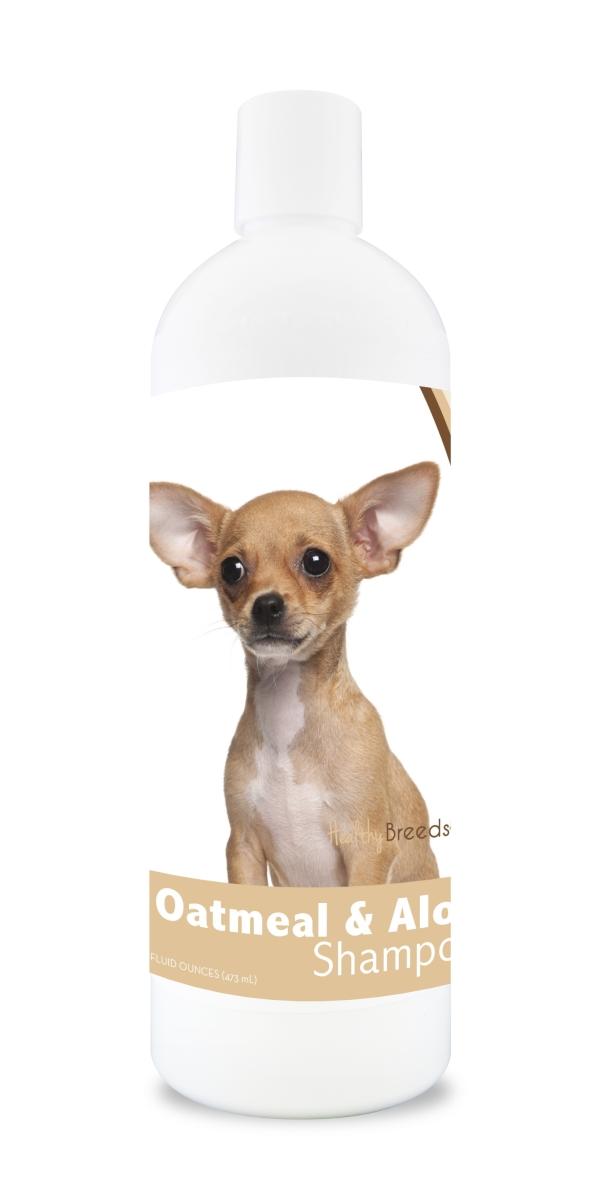 Healthy Breeds 840235104674 16 oz Chihuahua Oatmeal Shampoo with Aloe