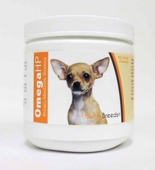 Healthy Breeds 840235104728 Omega-3 Fatty Acids Skin & Coat Soft Chews