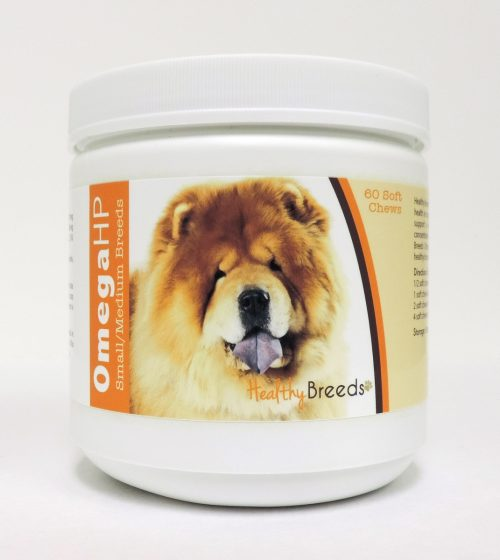 Healthy Breeds 840235104865 Omega-3 Fatty Acids Skin & Coat Soft Chews