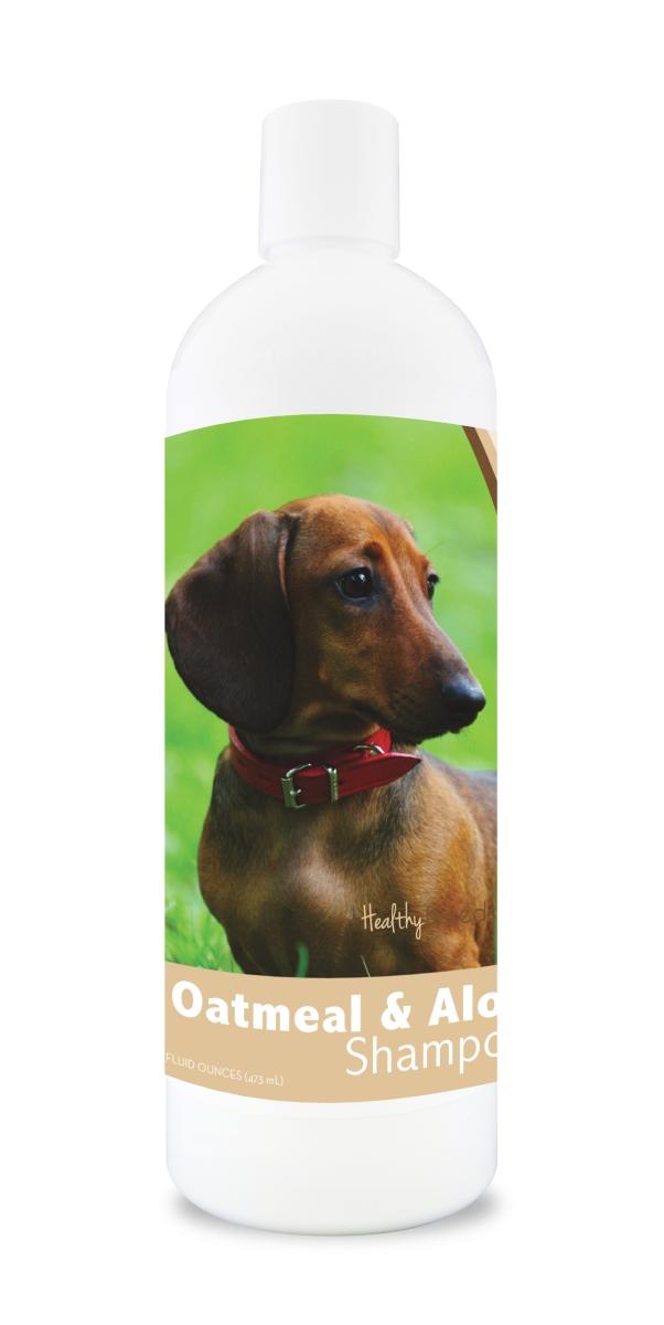 Healthy Breeds 840235105749 16 oz 14.5 lbs Dachshund Oatmeal Shampoo with Aloe