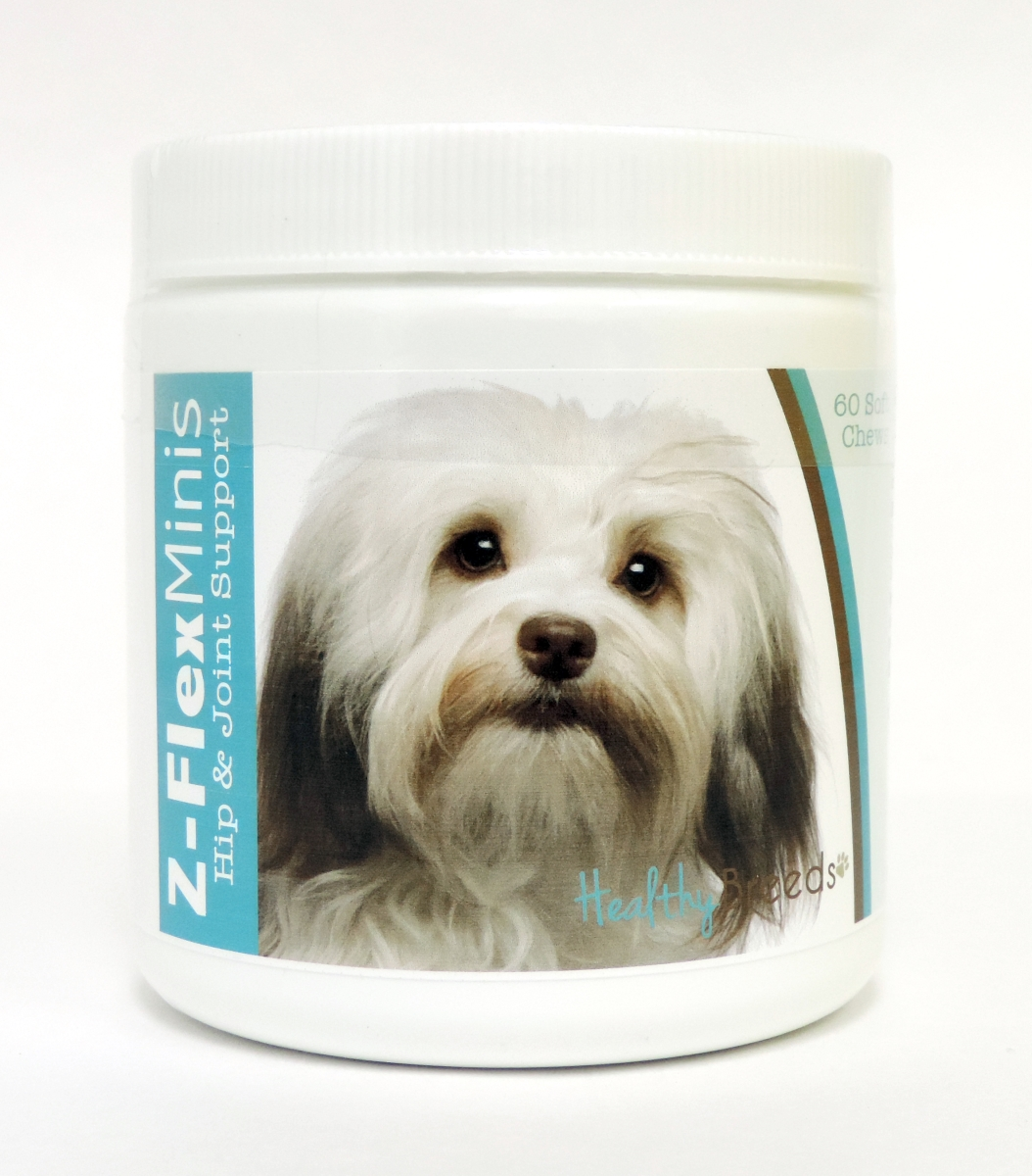 Healthy Breeds 840235109006 Havanese Z-Flex Minis Hip & Joint Support Soft Chews - 60 Count