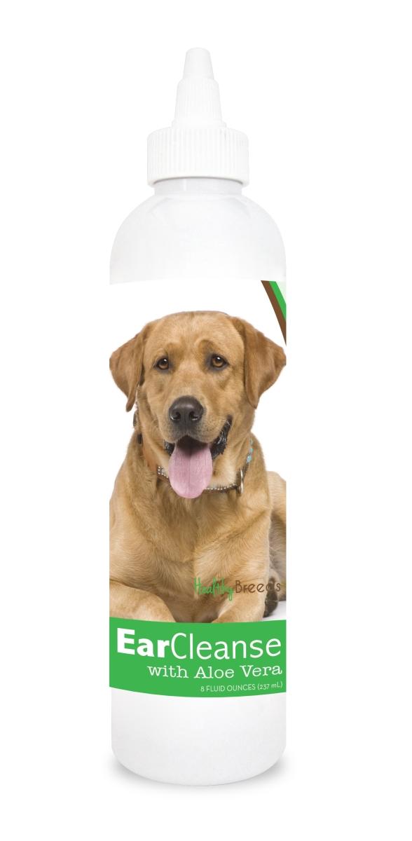 Healthy Breeds 840235109464 8 oz Labrador Retriever Ear Cleanse with Aloe Vera Cucumber Melon