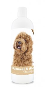 Healthy Breeds 840235110033 16 oz Labradoodle Oatmeal Shampoo with Aloe