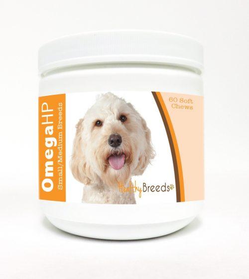 Healthy Breeds 840235110163 Omega-3 Fatty Acids Skin & Coat Soft Chews