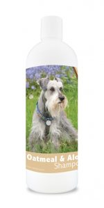 Healthy Breeds 840235111009 16 oz Miniature Schnauzer Oatmeal Shampoo with Aloe