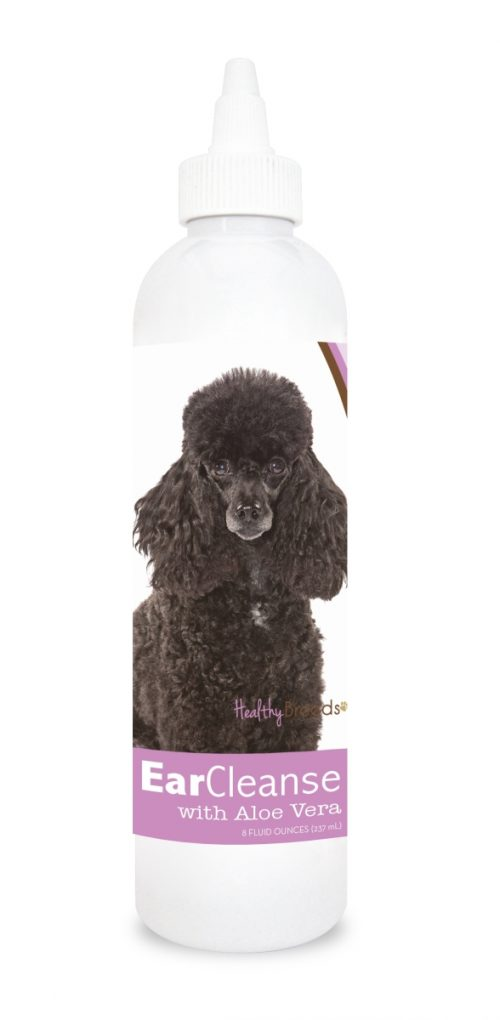 Healthy Breeds 840235112167 8 oz Poodle Ear Cleanse with Aloe Vera Sweet Pea & Vanilla