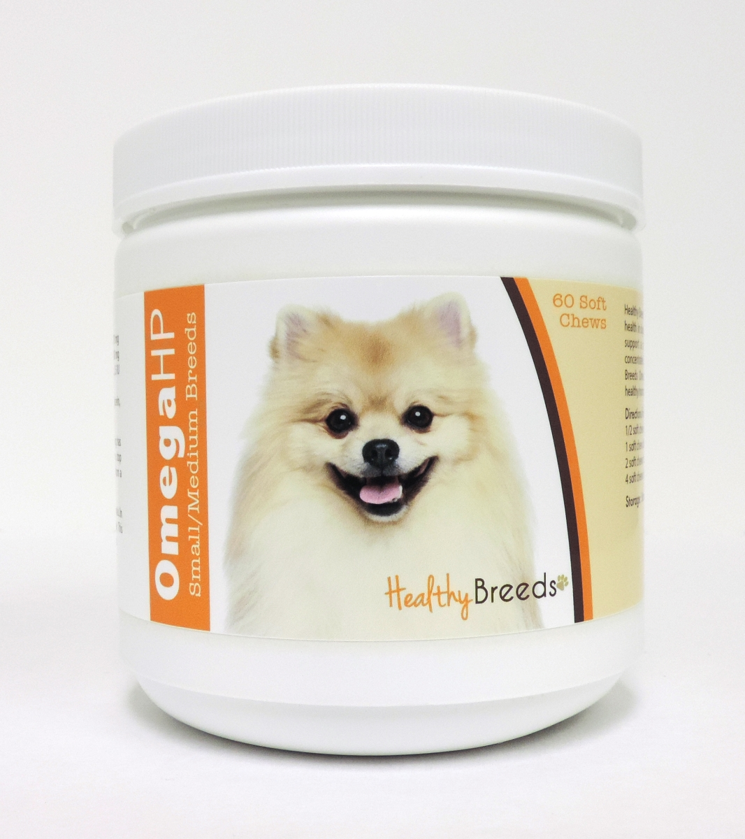 Healthy Breeds 840235112518 Omega-3 Fatty Acids Skin & Coat Soft Chews